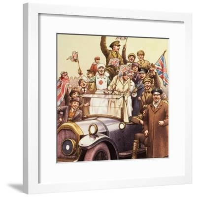 Celebrations Post World War I-Pat Nicolle-Framed Giclee Print