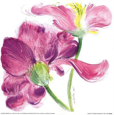 Flowers Symphony III by Celeste