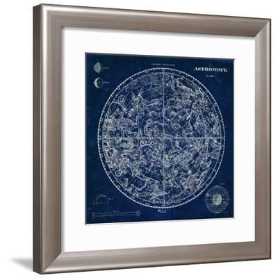 Celestial Blueprint-Sue Schlabach-Framed Premium Giclee Print