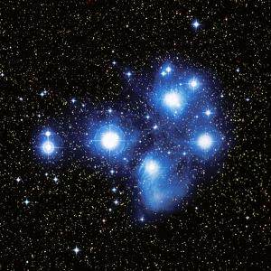 Optical Image of the Pleiades Star Cluste by Celestial Image