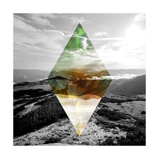 Celestial Landscape 4-THE Studio-Premium Giclee Print