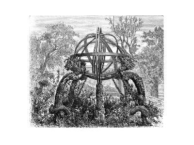Celestial Sphere in the Old Observatory, Peking, C1890--Giclee Print