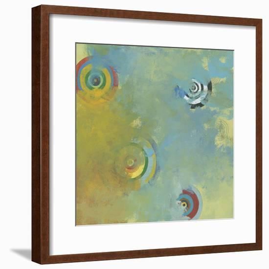 Celestial Strangers 1-Jan Weiss-Framed Art Print
