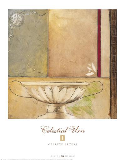 Celestial Urn I-Celeste Peters-Art Print