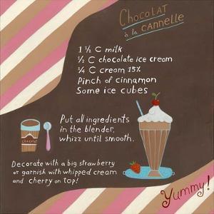 Chocolate-Cinnamon Milkshake by Céline Malépart