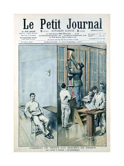 Cell and Library at the Prison at Fresnes, 1907--Giclee Print