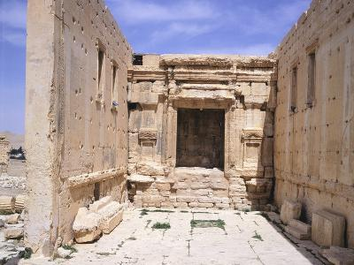 Cell of Sanctuary of Baal--Photographic Print