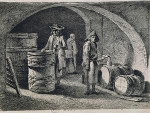 Cellar with Wine Barrels, 1770