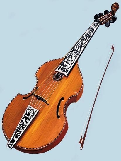 Cello--Giclee Print
