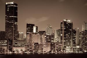 Miami Cityscape by CelsoDiniz