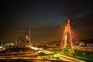Octavio Frias De Oliveira Bridge, Brazil by CelsoDiniz