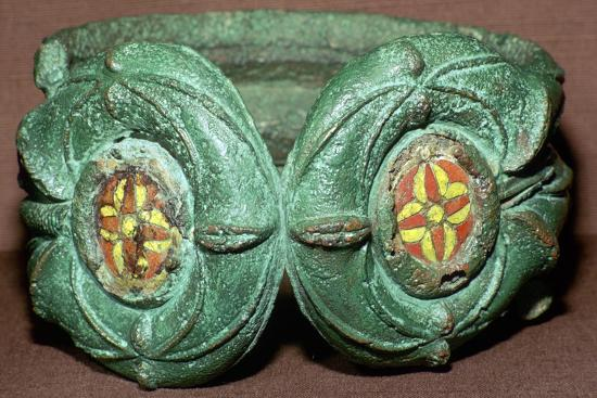 Celtic bronze armlet from Scotland. Artist: Unknown-Unknown-Giclee Print