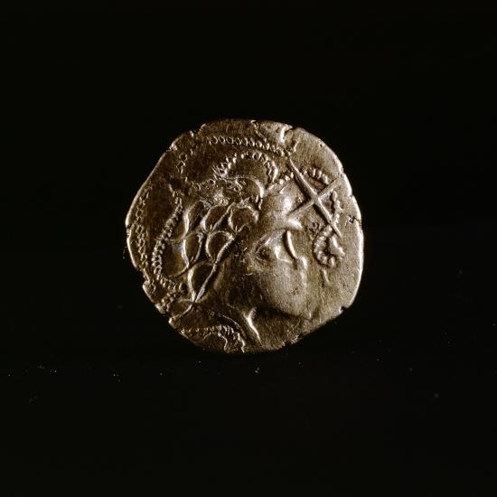 Celtic coin, Armorica, France, first half of the 1st century BC-Werner Forman-Giclee Print