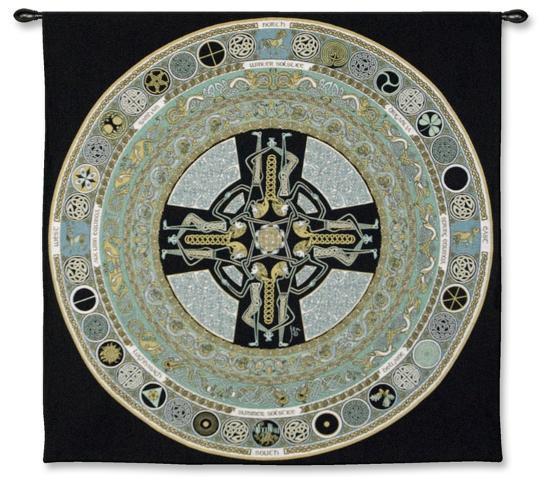 Celtic Mandola-Jen Delyth-Wall Tapestry