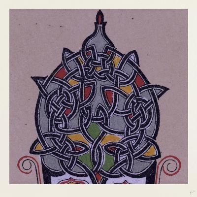 Celtic Ornament--Giclee Print