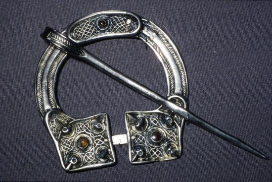 Celtic Penannular Brooch from Ballynaglough, 8th century-Unknown-Giclee Print