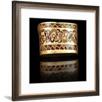 Celtic Sword Hilt Fitting--Framed Photographic Print