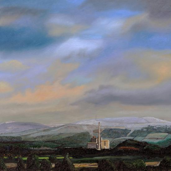 Cement Works, Hope Valley, Derbyshire, 2009-Trevor Neal-Giclee Print