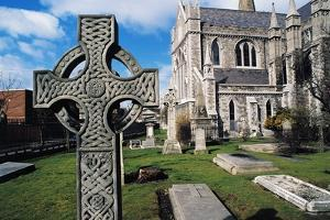 Cemetery at St Patrick's Cathedral, Dublin, Ireland, 12th Century