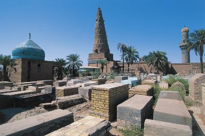 Cemetery Near the Sheikh Omar Al-Sahrawardi Shrine, Baghdad, Iraq--Photographic Print