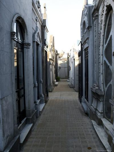 Cemetery, View Point, Buenos Aires, Argentina, South America-Thorsten Milse-Photographic Print