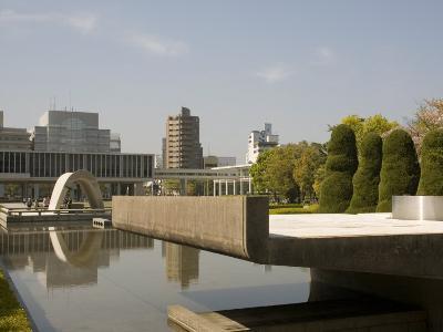 Cenotaph and Peace Museum, Hiroshima, Japan-Richardson Rolf-Photographic Print