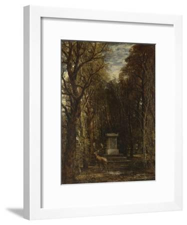 Cenotaph to the Memory of Sir Joshua Reynolds, 1833-1835-John Constable-Framed Giclee Print