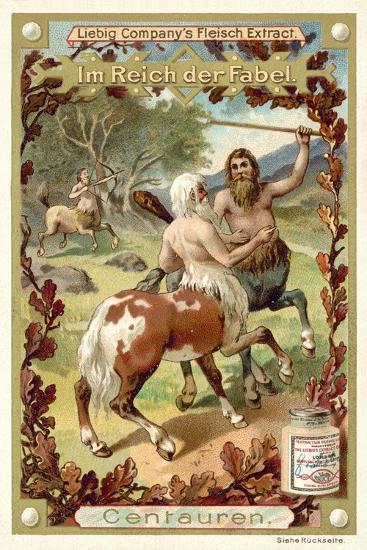 Centaurs--Giclee Print