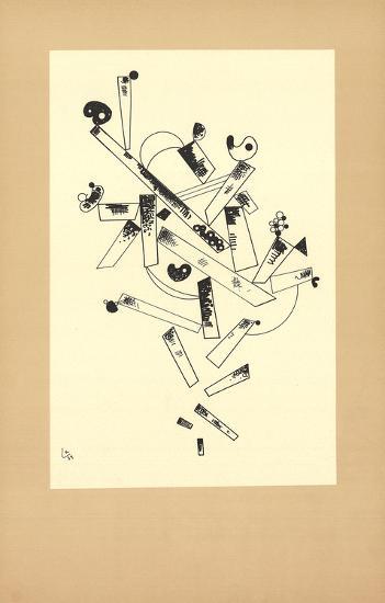Centenaire (No Text)-Wassily Kandinsky-Art Print