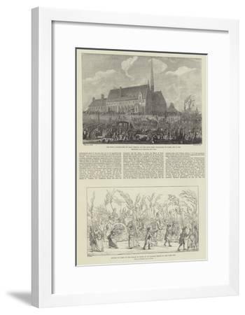 Centenary of the French Revolution--Framed Giclee Print