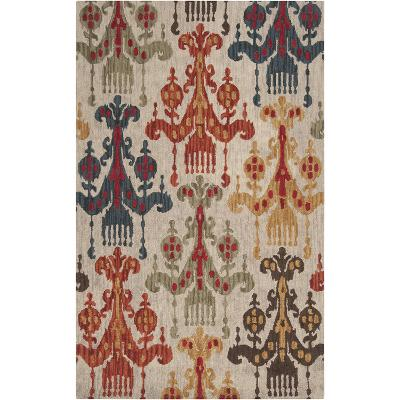 Centennial Area Rug - Navy/Rust 5' x 8'--Home Accessories