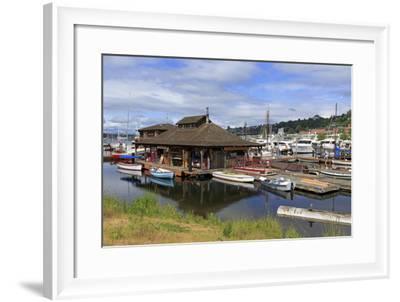 Center for Wooden Boats-Richard Cummins-Framed Photographic Print