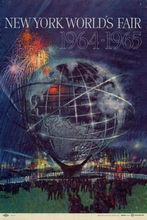 Center Warshaw Collection Centennial Expositions, New York World's Fair