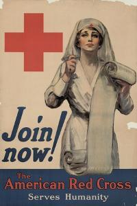 Center Warshaw Collection, Join now! The American Red Cross Serves Humanity