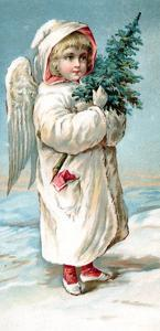 Center Warshaw Collection of Business Americana Series: Christmas Angels