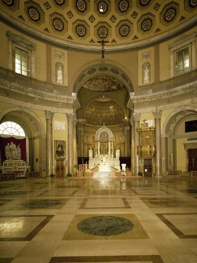 Central Aisle and High Altar of Church of Saint Charles Borromeo--Giclee Print