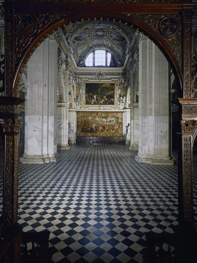 Central Aisle to High Altar of Santa Maria Maggiore Basilica, Bergamo, Italy, 12th-17th Centuries--Giclee Print