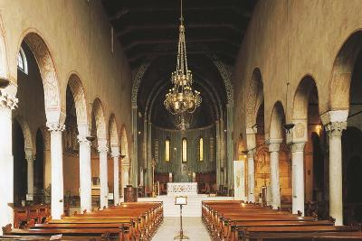 Central Aisle, Trieste Cathedral, Trieste, Italy, 12th Century--Giclee Print