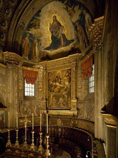 Central Apse of Cathedral of Santa Maria Assunta, Cremona, Italy, 12th-14th Century--Giclee Print