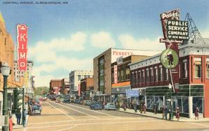 Central Avenue, Albuquerque, New Mexico