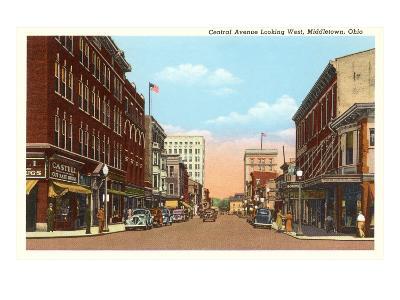 Central Avenue, Middletown, Ohio--Art Print