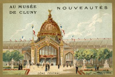 Central Dome, Exposition Universelle, Paris, 1889--Giclee Print