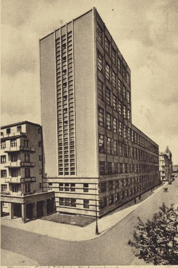 Central Long Distance Telephone Service Office Building, Warsaw--Photographic Print