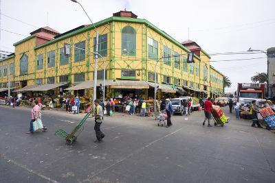 Central Market, Valparaiso, Chile-Peter Groenendijk-Photographic Print