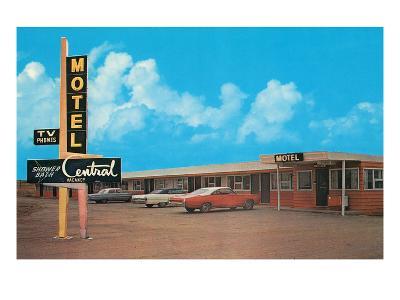 Central Motel--Art Print
