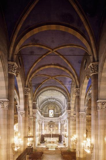 Central Nave of Church of San Domenico, Casale Monferrato, Italy, 15th-16th Centuries--Giclee Print