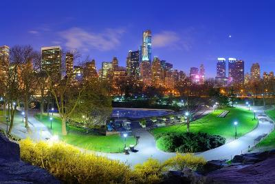 Central Park and Cityscape of New York City-SeanPavonePhoto-Photographic Print