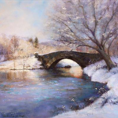 Central Park Bridge-Esther Engelman-Art Print