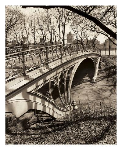 Central Park Bridges 3-Chris Bliss-Art Print