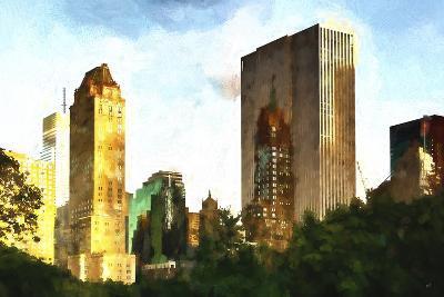 Central Park Buildings-Philippe Hugonnard-Giclee Print